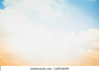 Summer holiday concept abstract blurred sun light sky background.
