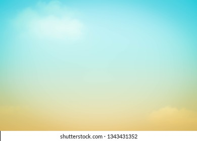 Summer holiday concept Abstract bokeh flare sunlight with blur nature sunrise beach background