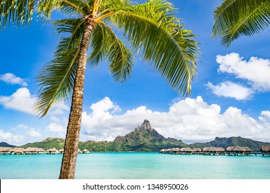 Summer holidays on the Bora Bora atoll, French Polynesia, Tahiti