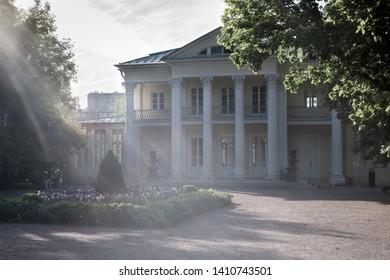 Summer house of count Orlov in Neskuchny garden in Moscow.