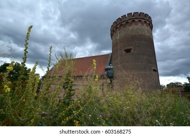 Summer impressions from the Citadel Spandau in Berlin from July 31, 2015, Germany