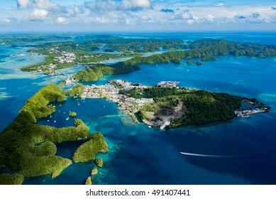 Summer of Koror, Palau Malakal Island