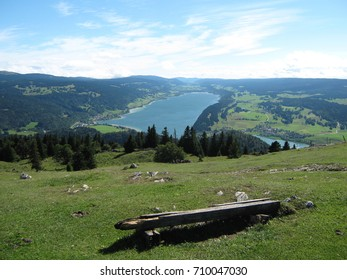 Summer at Lac de Joux, Hout Jura, Switzerland