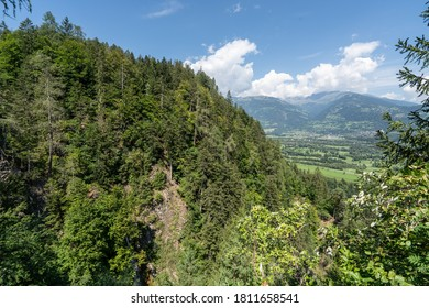 Summer landscape in Austrian alps