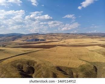 Summer landscape from eastern anatolia,turkey