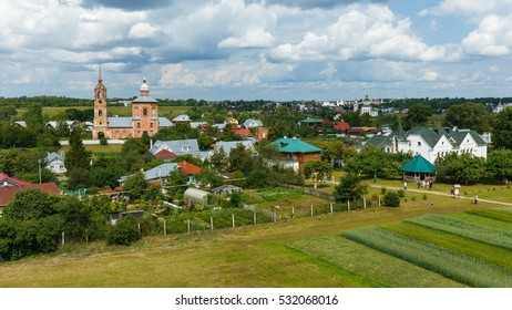 Summer landscape of Suzdal