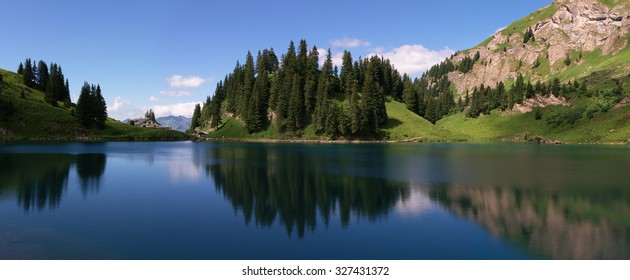 Summer landscape, Swiss Alps