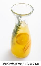 summer lemonade in bottle