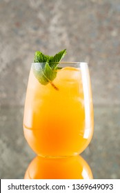 summer lemonade with fruits