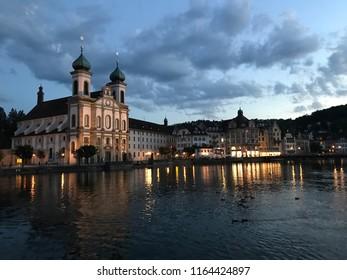 Summer in Luzern City