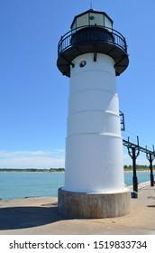 Summer in Michigan: Closeup of St. Joseph Lighthouse
