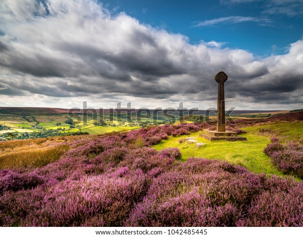 Summer morning at the Millenium Cross overlooking Rosedale.