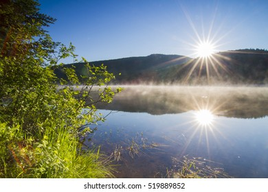Summer Morning in Mont Tremblant National Park-Canada