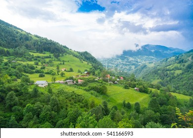 Summer Mountain Plateau Highland with Giresun - Turkey