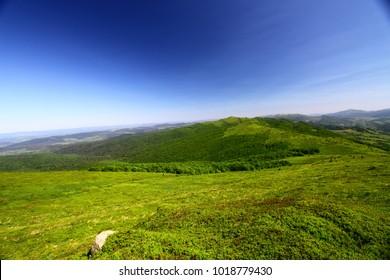 summer mountain trip