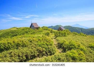 Summer of Mt. Shirakamidake, World Heritage, Shirakami-Sanchi, Aomori, Japan