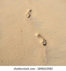 Summer, My Foot on sand.