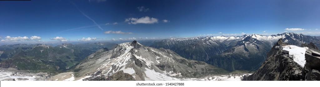 Summer on the Hintertux Glacier