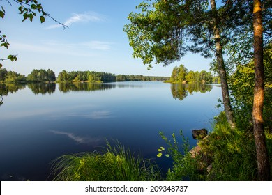 Summer on Karelia Lake