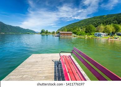 Summer at Ossiacher Lake, Carinthia, Austria