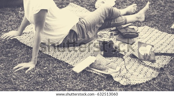 Summer Outdoor Picnic in the Park