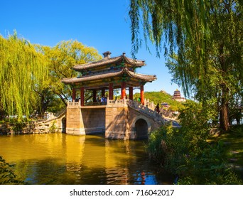 Summer Palace scenery. Summer Palace located in Beijing of China. It was royal garden.