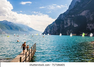 Summer in paradise Lago di Garda in italy