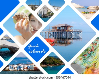 Summer photos of Greek islands, Greece