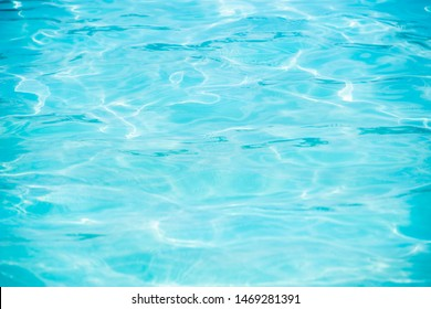 Summer pool water and reflection background