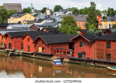 Summer Porvoo city is a heavenly place.  Situated on the southern coast of Finland approximately 50 kilometres east of Helsinki.