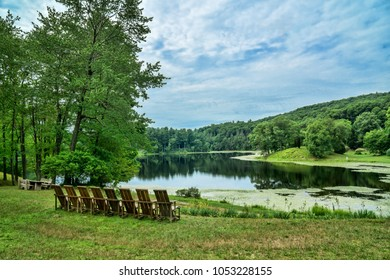 Summer Relaxation at the Lake