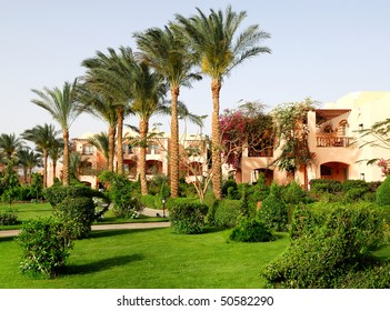 Summer resort in arabian style. Egypt