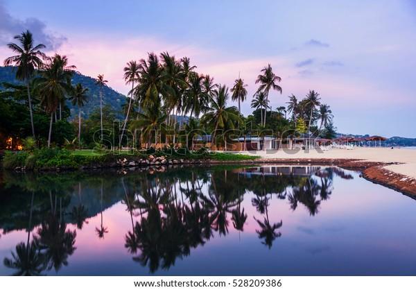 Summer Resort Ko Samui Thailand Little Stock Photo Edit Now