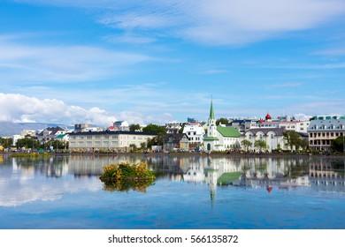 Summer Reykjavik