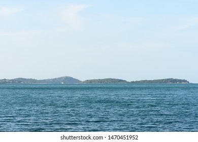 Summer seascape on the coast of the island of Koh Samui, Thailand