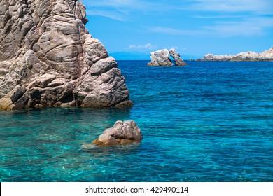 Summer seascape of Sardinia, Italy