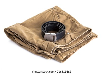 summer shorts isolated on white background