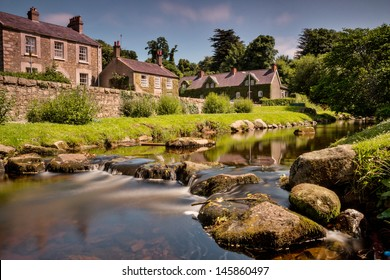 A summer shot of the Fairy Glen in Rostrevor town, at the foot of the Mourne Mountains. This shot was taken in July of 2013 on an unusually warm summer's day.
