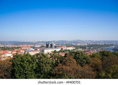 Summer shot of old Prague