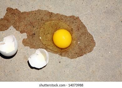 "summer sidewalk hot enough to ""Fry an egg"""