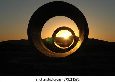 Summer solstice in the Utah desert