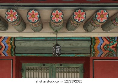 summer, south korea, seoul, national, traditional, tourism, courtyard, old, stone, gray, history, culture, popular, courtyard, wooden, colored, roof, rooms, deserted, architecture, background