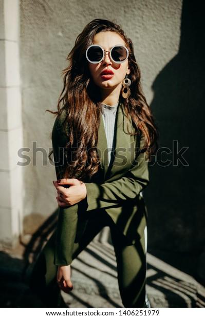 Summer Spring Fashion Fashionable Stylish Woman Stock Photo Edit Now 1406251979