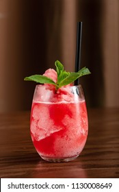 summer strawberry cocktail