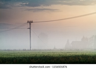 The summer sun sets and the mist rises from the fields of the Northern Finland. The autumn is almost here.