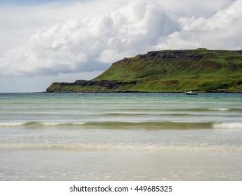 Summer sunshine at Calgary Beach, Isle of Mull, Scotland, UK