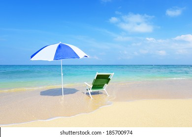 summer time at the beach