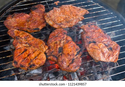 Summer is a time for lovers of grilling. Meat and hot coals - that's all that's needed for the grill festival.