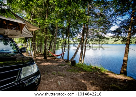 Summer Vacation By Lake Upstate New Stock Photo Edit Now