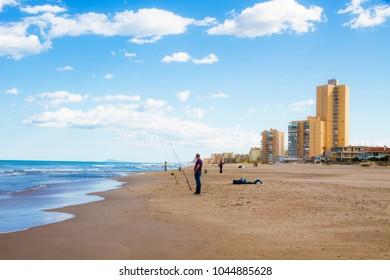 summer vacation on the beach